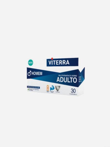 Viterra Homem - 30 Comprimidos - Perrigo
