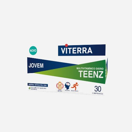 Viterra Teenz- 30 Comprimidos – Perrigo
