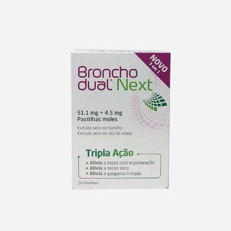 Bronchodual Next – 20 pastilhas – Perrigo