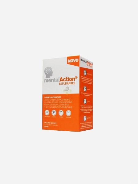 MentalAction Estudantes - 30 comprimidos + 30 cápsulas - Perrigo