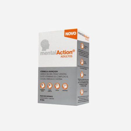 MentalAction Adultos – 30 comprimidos + 30 cápsulas – Perrigo