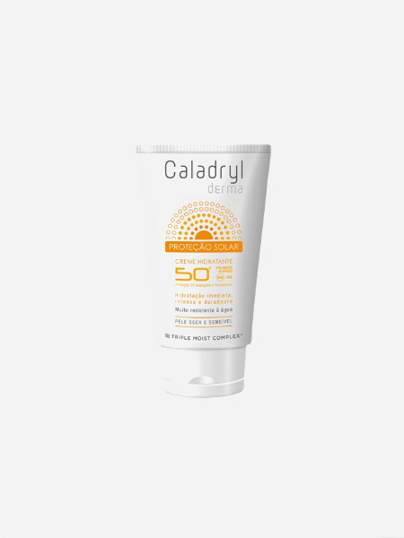 Caladryl Derma proteção solar creme hidratante FPS50+ - 50 ml - Perrigo