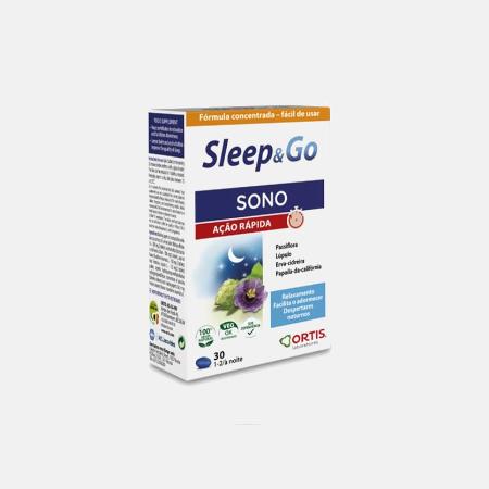 Sleep & Go – 30 Comprimidos – Ortis