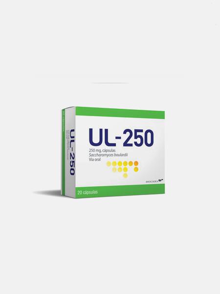 UL-250 - 20 cápsulas - Biocodex