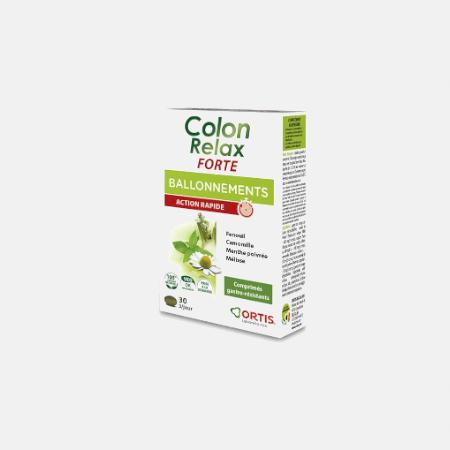 Colon Relax Forte – 30 Comprimidos – Ortis