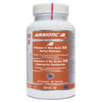 VIT C no acida lib. sostenida –  90cap – AIRBIOTIC