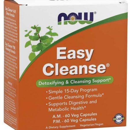 Easy Cleanse – 60+60 cápsulas – NOW