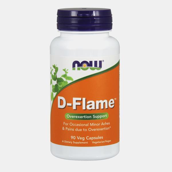 D-Flame – 90 cápsulas – NOW