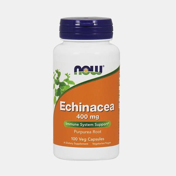 Echinacea 400 mg – 100 cápsulas – Now