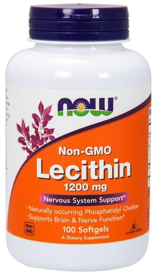 Lecithin 1200mg -  100 cápsulas - Now
