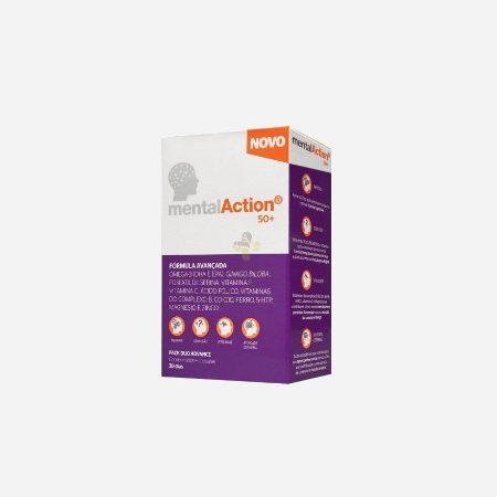 MentalAction 50+ – 30 comprimidos + 30 cápsulas – Perrigo
