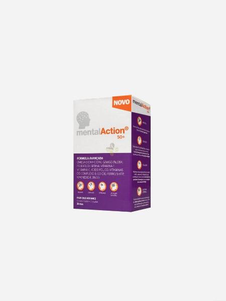 MentalAction 50+ - 30 comprimidos + 30 cápsulas - Perrigo