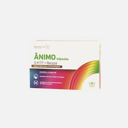 Ânimo 5-HTP + Bacopa – 60 cápsulas – Biocêutica