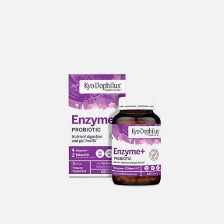 Kyo-Dophilus com Enzimas – 60 cápsulas – Kyolic
