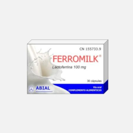 FERROMILK lactoferrina 100mg. 30cap.