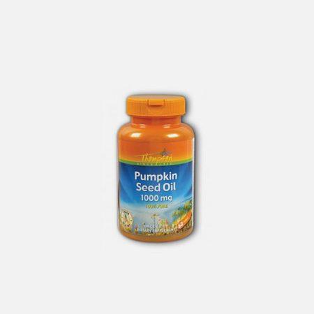 Pumpkin Seed Oil 1000mg – 60 cápsulas – Thompson