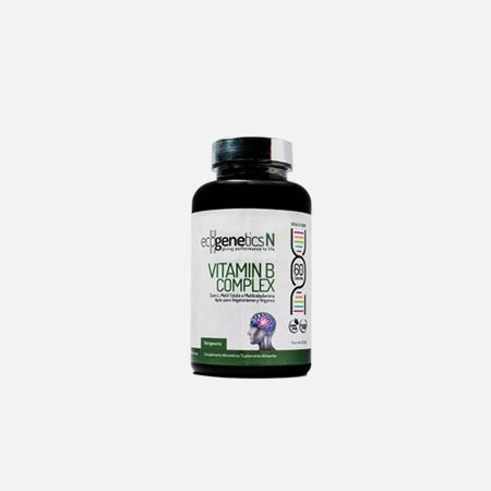Vitamin B Complex – 60 cápsulas – EcoGenetics
