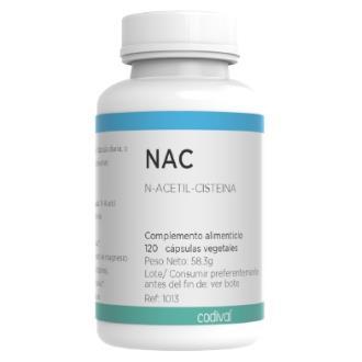 NAC N-ACETIL-CISTEINA 120cap.