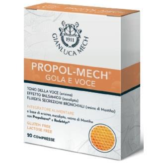 PROPOL-MECH sabor naranja 20comp.