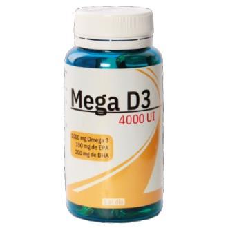 MEGA D3 4000UI 60perlas
