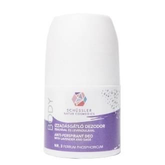 SCHUSSLER Nº3 desodorante lavanda-salvia 60ml.