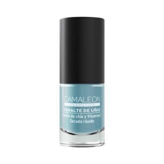 CAMALEON ESMALTE DE UÑAS gris azulado 6ml.