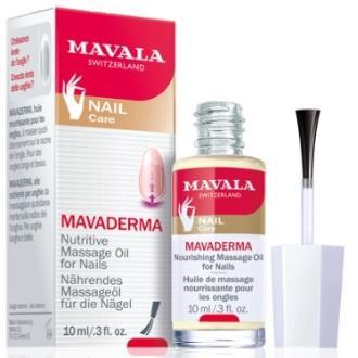 MAVALA MAVADERMA aceite fortalecedor uñas 10ml.
