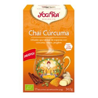 YOGI TEA CHAI CURCUMA 17infusiones