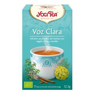 YOGI TEA VOZ CLARA 17infusiones