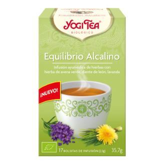 YOGI TEA EQUILIBRIO ALCALINO 17infusiones