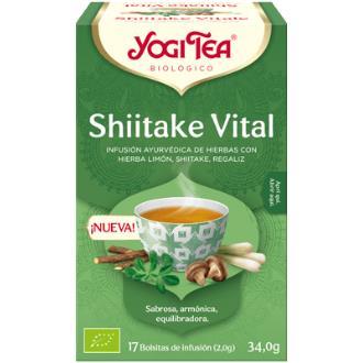 YOGI TEA SHIITAKE VITAL 17infusiones
