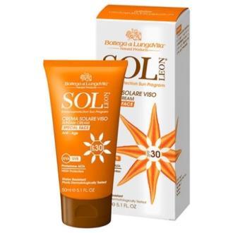 SOL LEON crema facial solar SPF 30 alta prot. 50ml