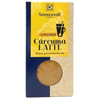 CURCUMA LATTE GINGER leche dorada 60gr. BIO