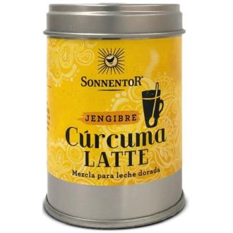 CURCUMA LATTE GINGER leche dorada lata 60gr. BIO