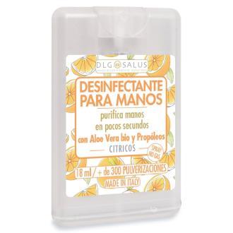 SPRAY HIDROALCOHOLICO HIGIENIZANTE citricos 18ml