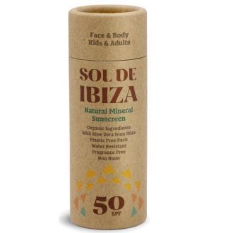 SOL DE IBIZA stick solar SPF50 40gr.