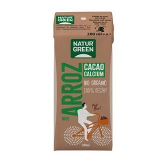 BEBIDA VEGETAL DE ARROZ con chocolate mini 200ml.