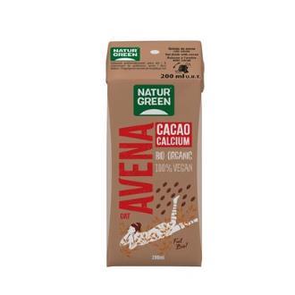BEBIDA VEGETAL DE AVENA con chocolate mini 200ml.