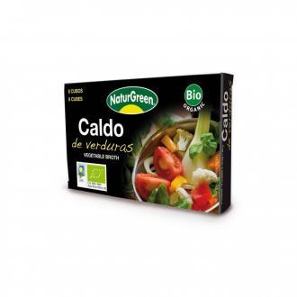 CALDO DE VERDURAS cubitos 8uds.