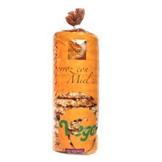 TORTITAS DE ARROZ con miel 250gr.