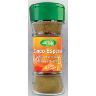 ESPECIAS MEZCLA CINCO TIPOS 30gr. BIO