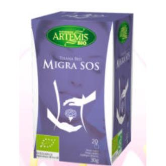 MIGRA SOS infusion 20bolsitas. BIO