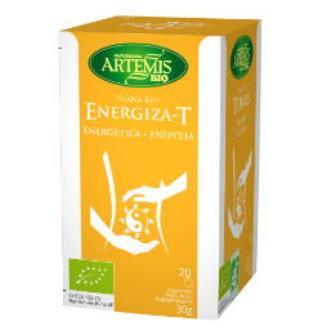 ENERGIZA T infusion 20bolsitas. BIO