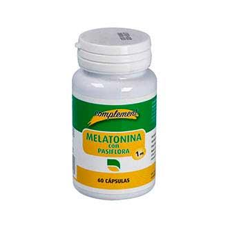 MELATONINA+PASIFLORA 1mg 60cap.