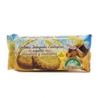 GALLETAS DE ESPELTA con chocolate 80gr. BIO