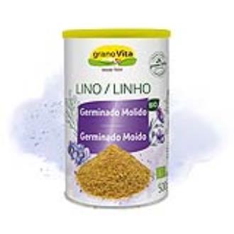 SEMILLAS DE LINO germinado molido 500gr.