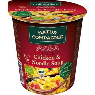 VEGGIE NOODLE ASIA con pollo sopa instantanea 55gr