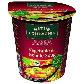 VEGGIE NOODLE ASIA PASTA con verduras sopa ins 55g