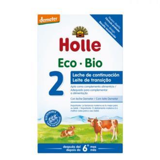 LECHE DE CONTINUACION 2 vaca 600gr. BIO