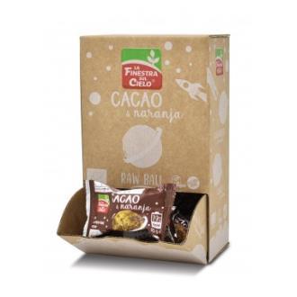 ENERGY BALL cacao y naranja 20uds. ECO SG VEGAN